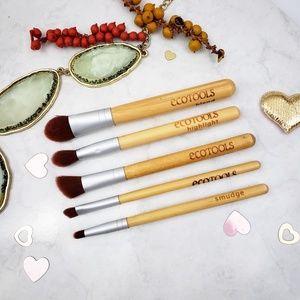 EcoTools Bamboo Travel Mini Eye Brush Set w/ Case